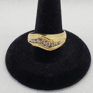 Other - Gold Mens Wedding Band